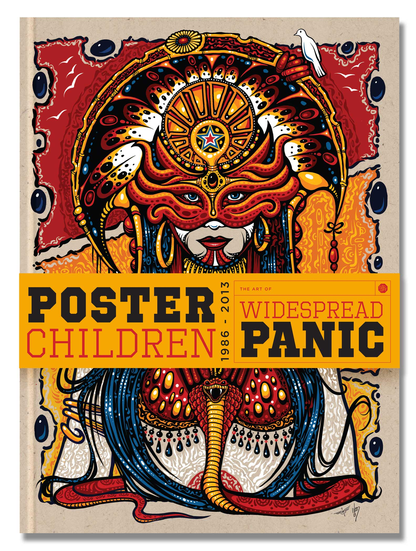 "Poster Child"" coffee table book… by Widespread Panic Scraped Knee"