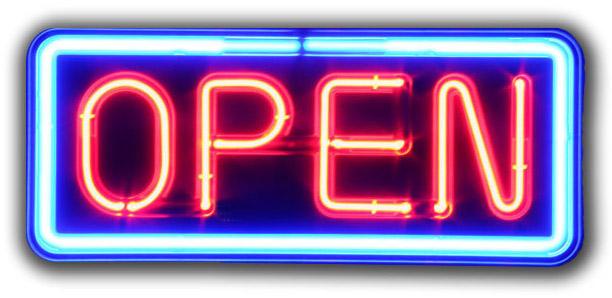 OPEN!!!