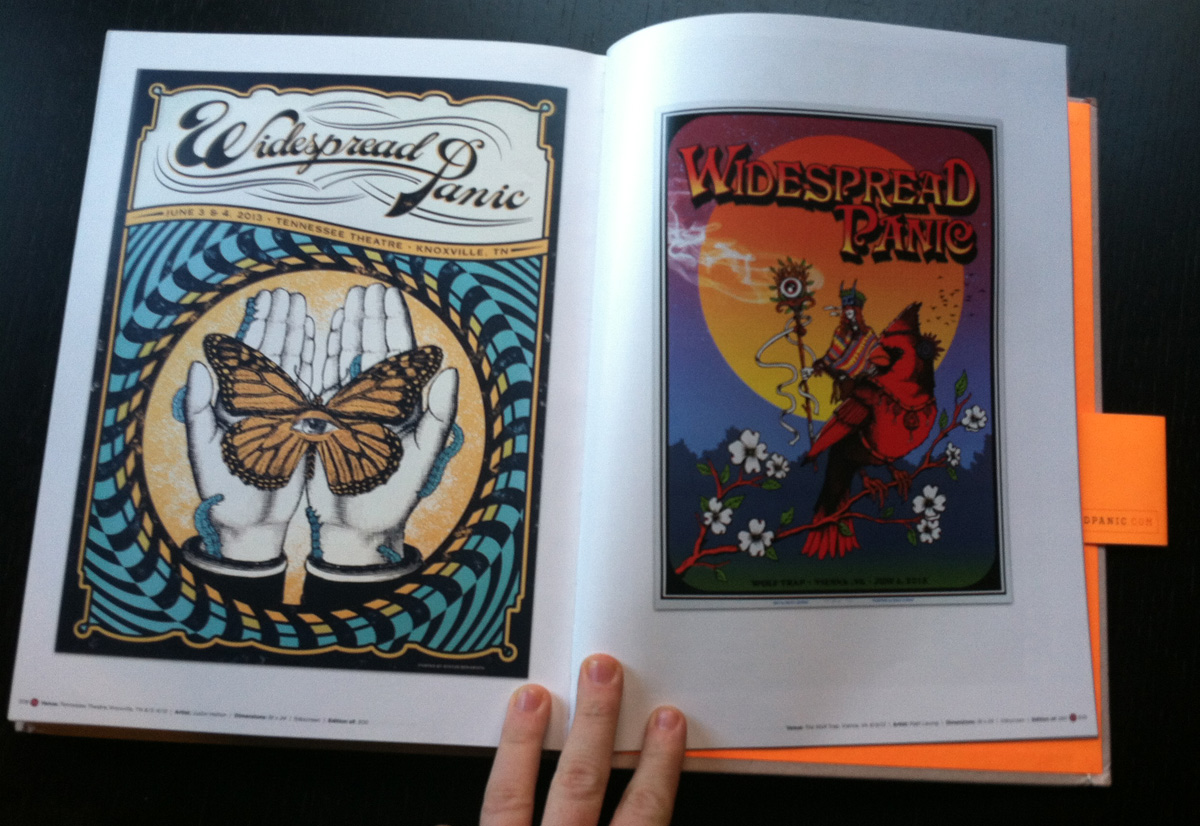 Poster Child Coffee Table Book By Widespread Panic