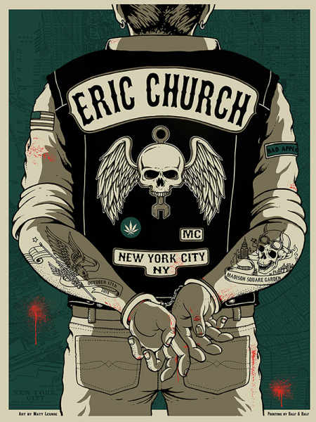 Eric Church - NYC 14'
