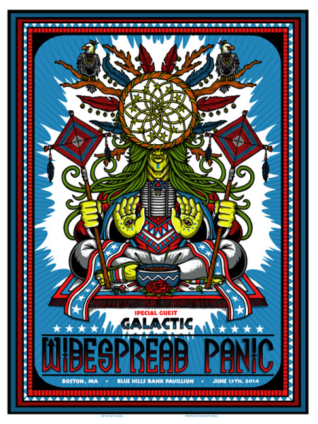 Widespread Panic - Boston 14'