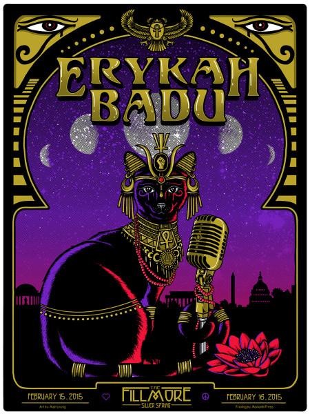 Erykah Badu – Silver Springs, MD  – 2015