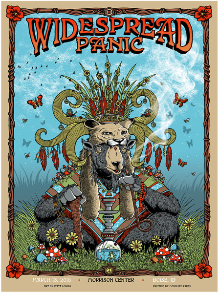 Widespread Panic - Boise, ID, 2015'