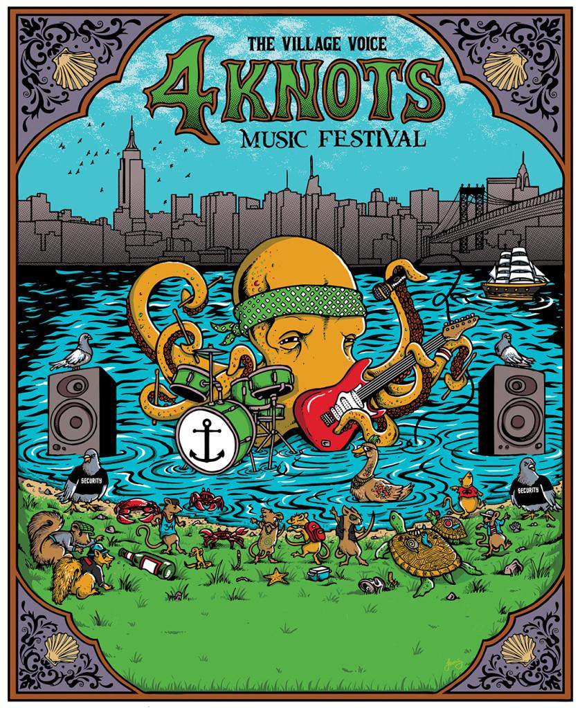 Village Voice's 4Knots Music Festival 2015