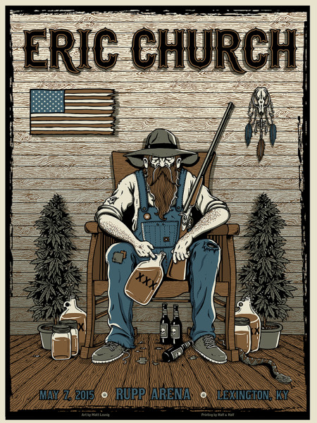 Eric Church - Lexington, KY 2015