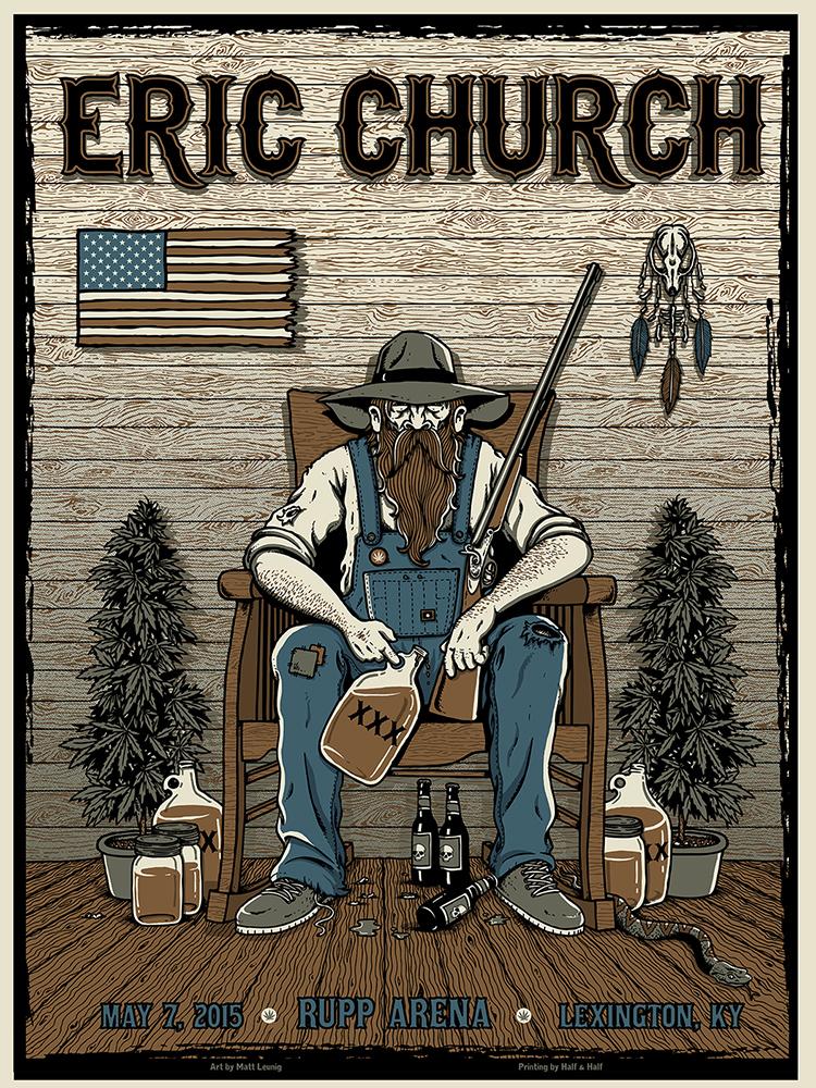 Eric Church - Lexington, KY 2015