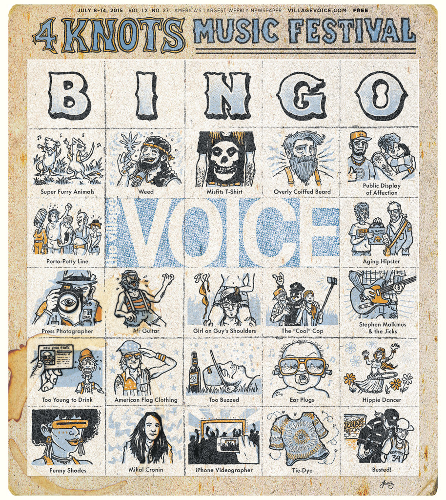 Village Voice - July 8, 2015 cover