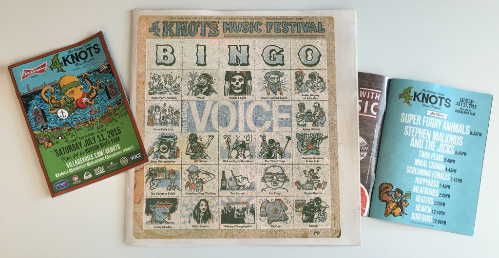 Village Voice cover & 4Knots insert