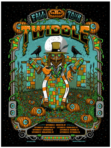 Twiddle – Fall Tour – 2017