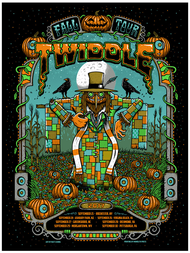 Twiddle Fall Tour 2017 poster…
