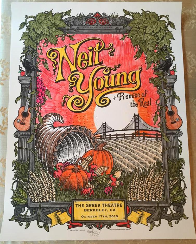 Lindsay – Neil Young Berkeley – 2015