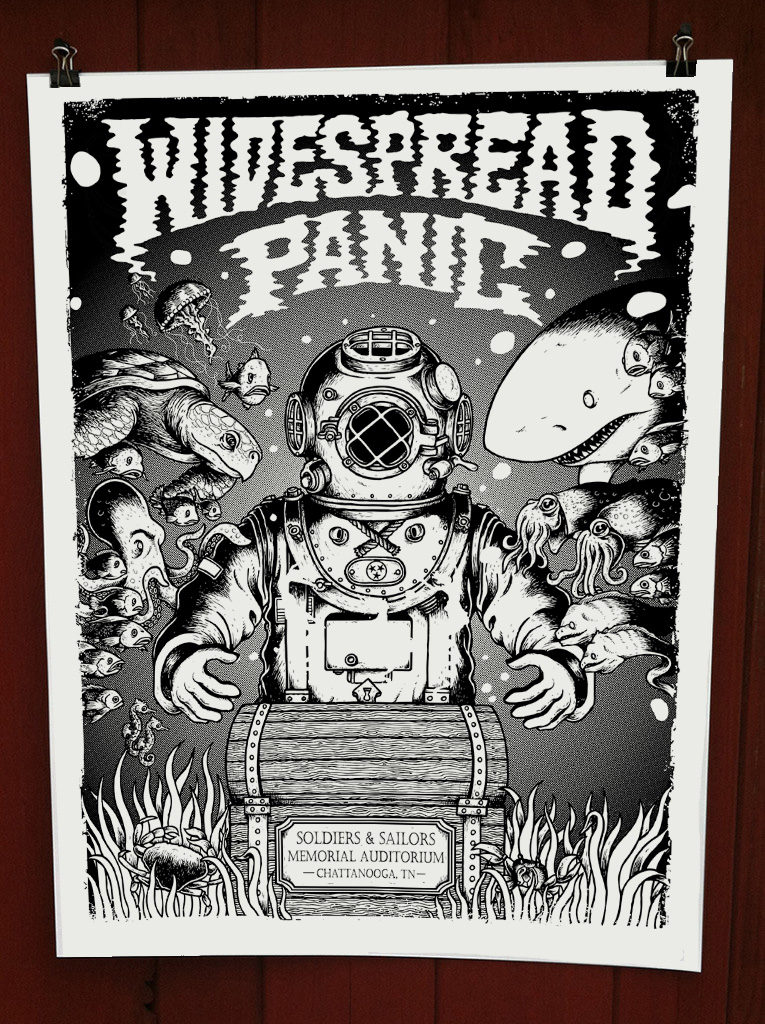 Widespread Panic – Chattanooga TN – 2016