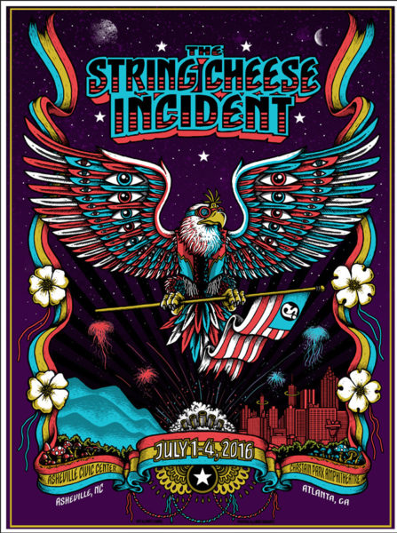 The String Cheese Incident – Asheville NC / Atlanta GA – 2016
