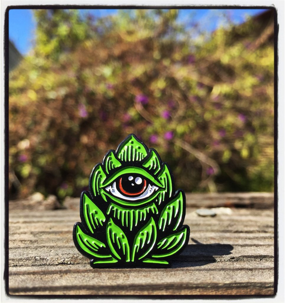 """Hop Eye"" enamel pin!!!!"