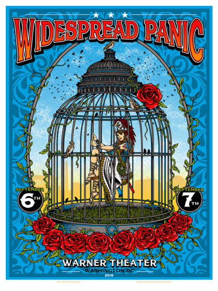 Widespread Panic – Washington DC – 2016