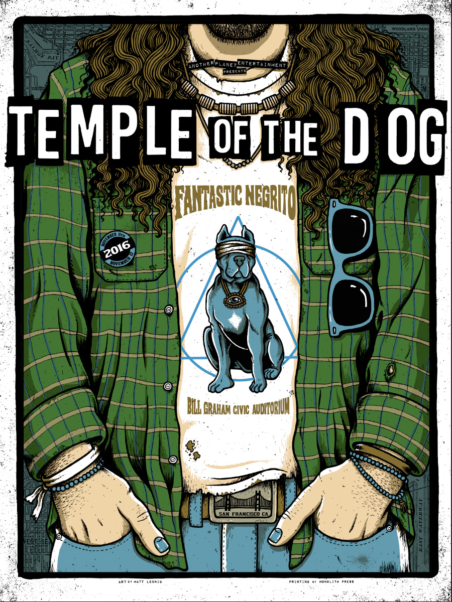 Temple of the Dog – San Francisco CA – 2016 : Scraped Knee