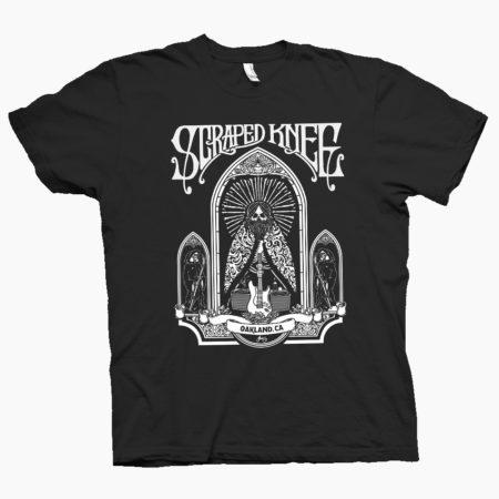"""Scraped Knee – """"10th Anniversary"""" T-shirt – 2016"""