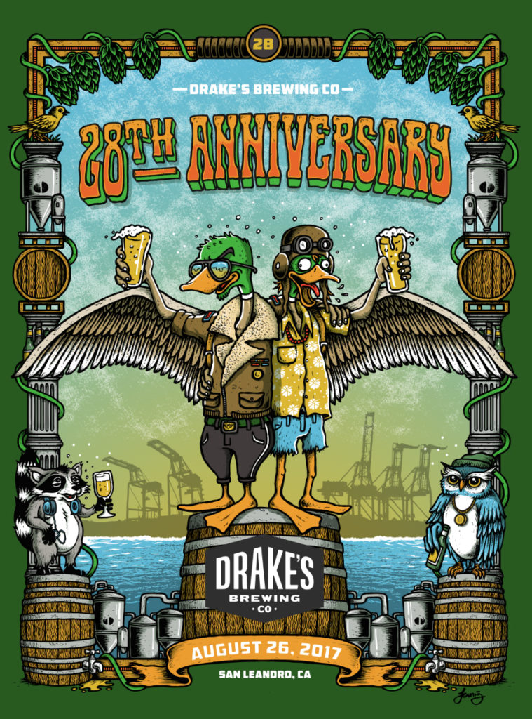 Drake's Brewing 28th Anniversary Party!!