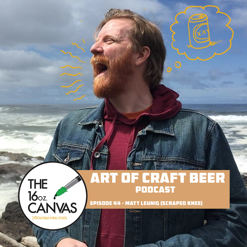 16oz Canvas – Art of Craft Beer podcast interview…